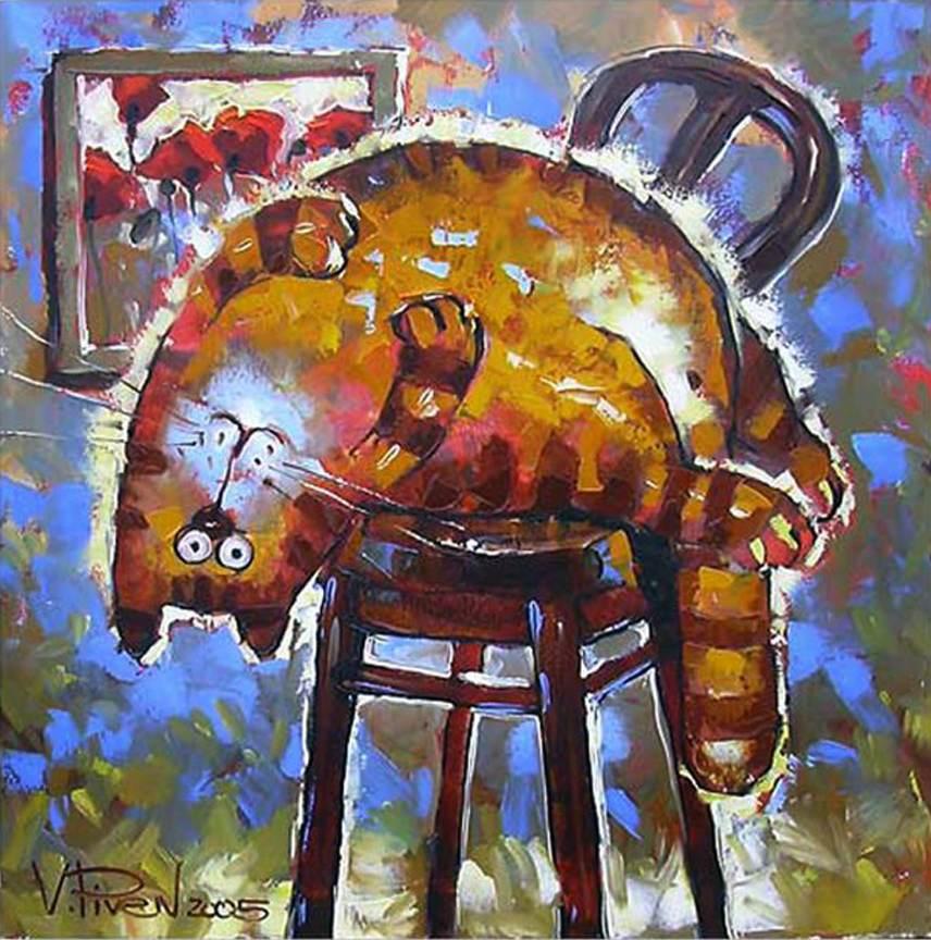 Забавные животные на картинах художников